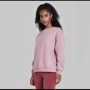 Wild fable heart sweatshirt